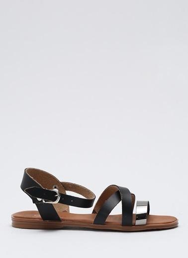 Shoes1441 Sandalet Siyah